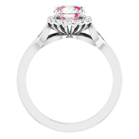 Hearts & Halos Engagement Ring - Moijey Fine Jewelry and Diamonds