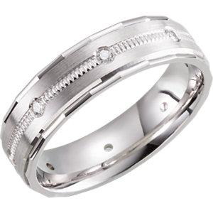 Design 6mm 1/6 CTW Diamond Band Size 7 - Moijey Fine Jewelry and Diamonds