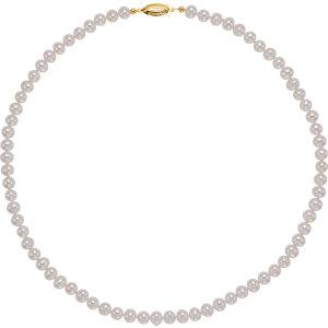 Pearl Necklace | Polished Panache Pearl Strand | Polished Pearl Necklace