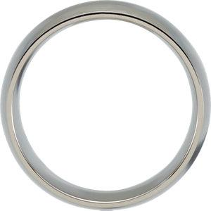 Titanium 10mm Domed Polished Band - Moijey Fine Jewelry and Diamonds