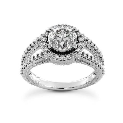 halo diamond engagement ring | encrusted diamond rope engagement ring | rope diamond engagement ring