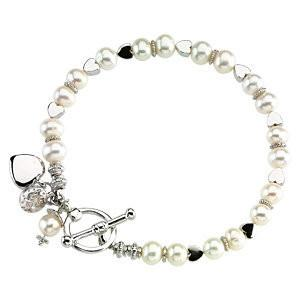 Freshwater Cultured Pearl Friendship Bracelet