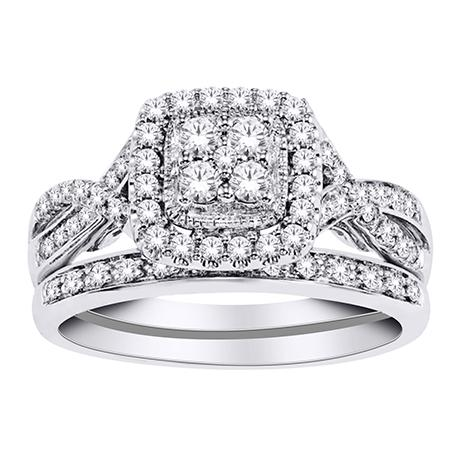 Fanciful Diamond Engagement Set - Moijey Fine Jewelry and Diamonds