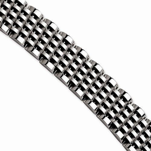 "8"" Stainless Steel Flexible Bracelet - Moijey Fine Jewelry and Diamonds"