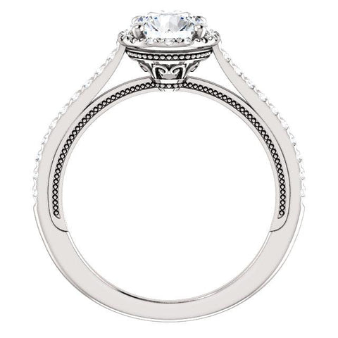 Round 1/4 CTW Diamond Semi-Set Engagement Ring - Moijey Fine Jewelry and Diamonds