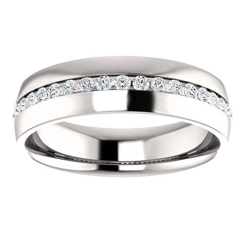 Channel-Set Diamond Band - Moijey Fine Jewelry and Diamonds