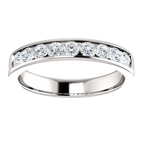 Men's Channel-Set 9/10 CTW Diamond Band - Moijey Fine Jewelry and Diamonds
