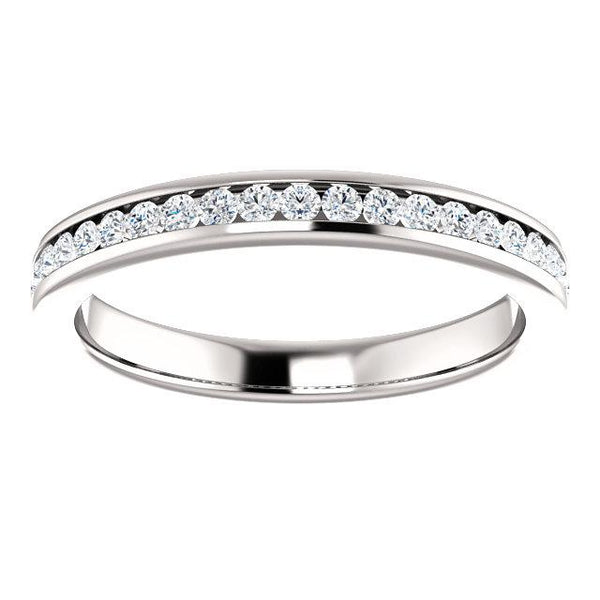 Channel-Set Diamond Anniversary Band (2mm)