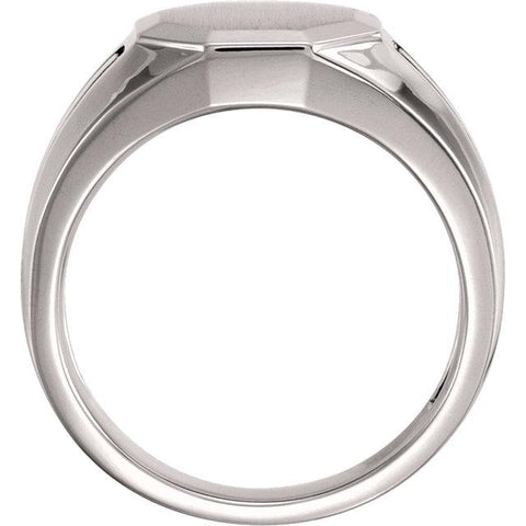 Octagonal Men's Signet Ring - Moijey Fine Jewelry and Diamonds