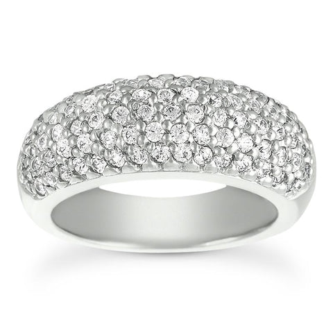 Bold Pave Anniversary Band - Moijey Fine Jewelry and Diamonds
