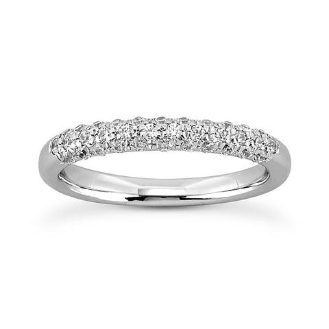 Shimmering Pave Anniversary Band - Moijey Fine Jewelry and Diamonds