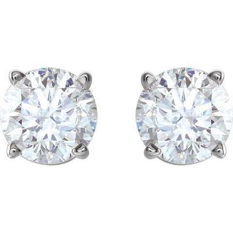 Half-Carat Diamond Stud Earrings - Moijey Fine Jewelry and Diamonds