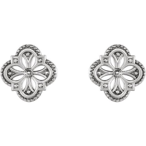 Vintage-Inspired Clover Earrings - Moijey Fine Jewelry and Diamonds