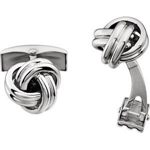 Knot Cuff Links - Moijey Fine Jewelry and Diamonds