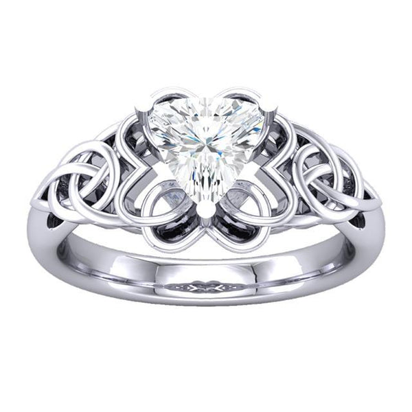 The RJ Trillion Engagement Ring - Moijey Fine Jewelry and Diamonds