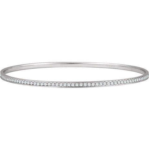 Diamond Bangle Bracelet - Moijey Fine Jewelry and Diamonds