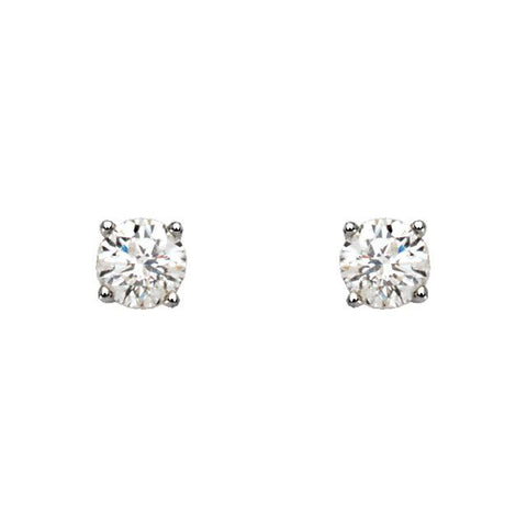 1 CTW Diamond Earrings - Moijey Fine Jewelry and Diamonds