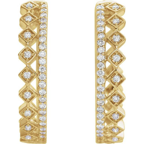 Sparkling Glow Earrings - Moijey Fine Jewelry and Diamonds
