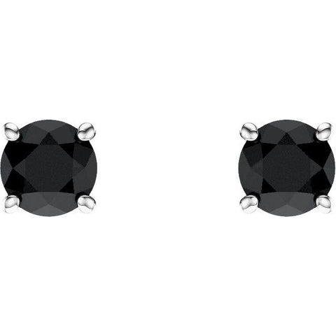 Black Diamond Stud Earrings - Moijey Fine Jewelry and Diamonds