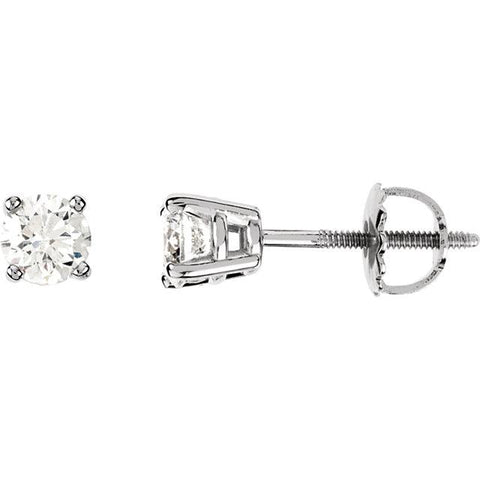 1/2 CTW Diamond Stud Earrings - Moijey Fine Jewelry and Diamonds