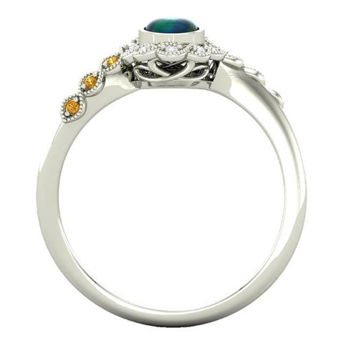 The Charmaine Engagement Ring - Moijey Fine Jewelry and Diamonds
