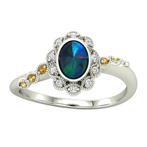 The Charmaine Engagement Ring