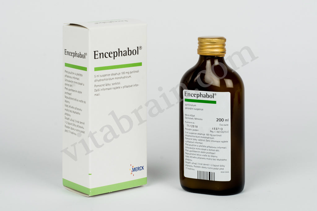 Encephabol (Pyritinol), Oral Suspension 200 ml
