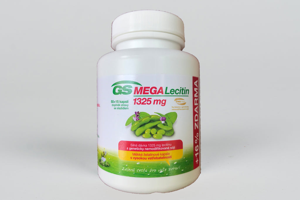 Mega Lecithin (Choline) 1,325 mg; 65 Tablets