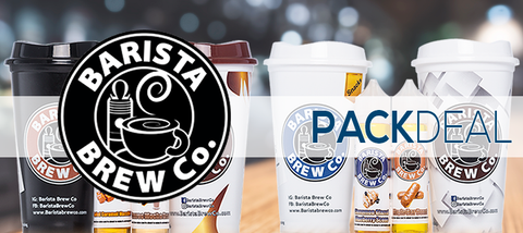 Barista Brew Co. Pack Deals Premium E-Liquid | Vape eJuice