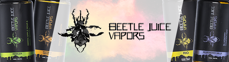 Beetle Juice Vapors Premium E-Liquid | Vape eJuice | 100ml $17.99