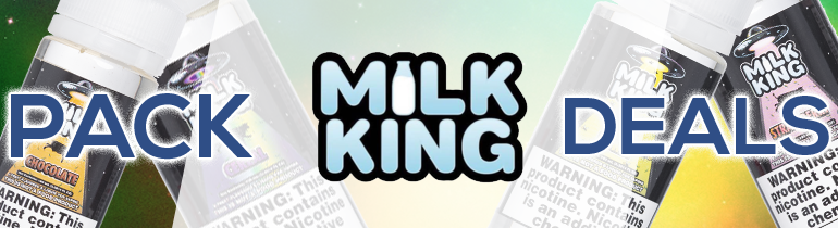 Milk King eJuice Pack Deals | Bundle Your eJuice and Save!