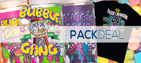 Bubble Gang & eJuice Direct 3-Pack Deal & Vape Apparel | eJuice Direct