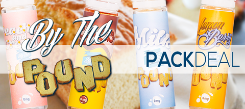 By The Pound E-Liquid 4-Pack Deal Premium | Vape eJuice