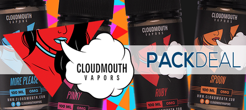 Cloudmouth Vapors Pack Deals Premium E-Liquid | Vape Bundles