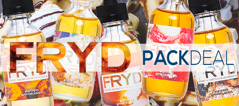 FRYD 5-Pack Deal Premium E-Liquid | Vape Bundle