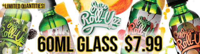 Juice Roll Upz Salt Nicotine Salt eLiquid | 60ml $7.99