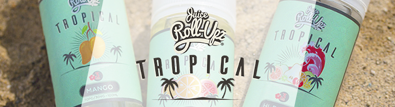 Juice Roll Upz Tropical Premium Vape Juice | 100ml eJuice!