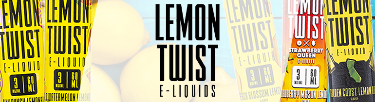 Lemon Twist E-Liquids Premium Vape Juice | eJuice Direct