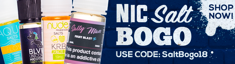 Nic Salt Buy One Get One Deal eJuice Direct