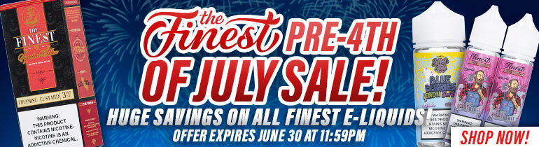 The Finest Pre-4th of July Sale