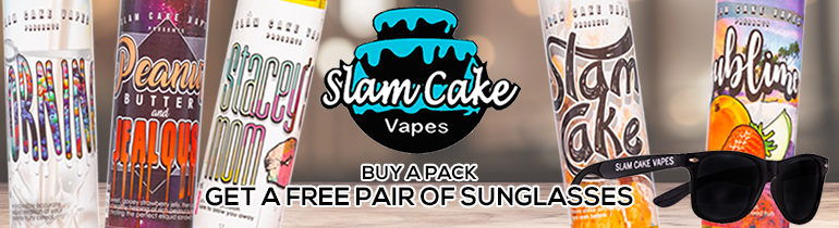 Slam Cake Vapes Premium E-Liquid | Vape eJuice | eJuice Direct