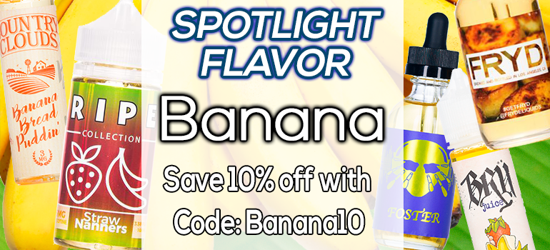 Spotlight Flavor Of The Week Premium Vape Juice