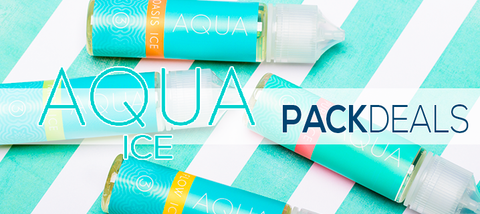 Aqua Ice 4-Pack Deal Premium Vape Juice eJuice Direct