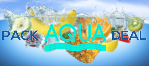 Aqua 240ml 4 pack deal premium eliquid ejuice direct