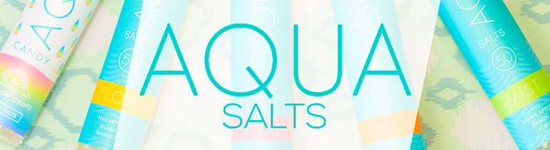 Aqua Salts by Marina Vape Nicotine Salt Vape Juice eJuice Direct
