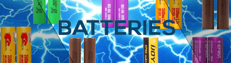 Batteries Vaping | Vape Hardware and Accessories