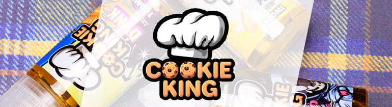 Cookie King By Candy King Premium Vape Juice eJuice Direct