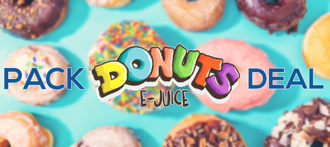 Donuts by Marina Vape Pack Deals | Premium eJuice