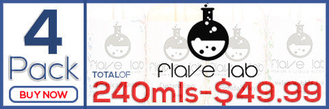 Flave Lab 4-Pack Premium eJuice