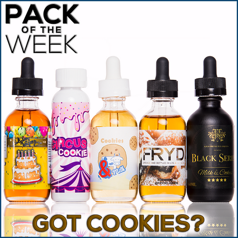 Pack Of the week Got Cookies? premium ejuice